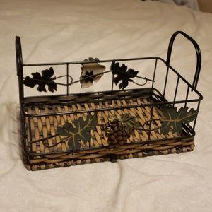 Cute grape basket